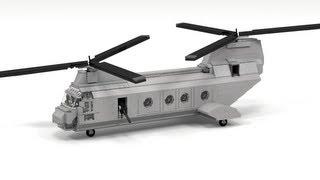 getlinkyoutube.com-Lego CH-46 Sea Knight Instructions