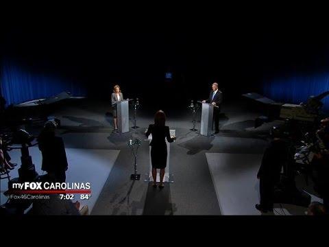 U.S. Senate Debate: Speaker Thom Tillis (R) and Senator Kay Hagan (D)