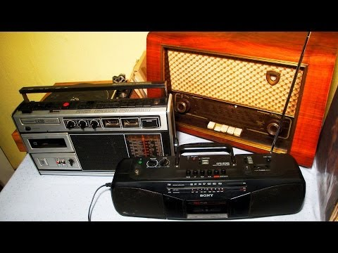 Old Radios as Smartphone Docking Stations