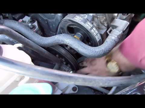 Замена ремня гидроусилителя Hyundai Accent