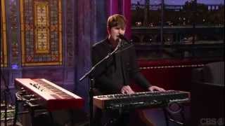 Watch James Blake on David Letterman (video)