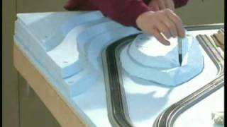 getlinkyoutube.com-Build a model train layout: Model railroad scenery Part 1 how to WGH