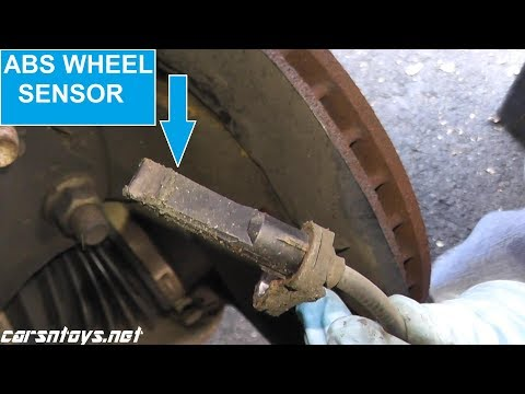 ABS Wheel Sensor Replacement with Basic Hand Tools HD