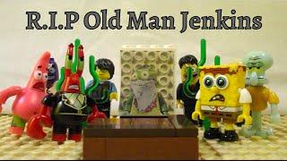 "getlinkyoutube.com-Mega Bloks Spongebob Ep. 19 ""R.I.P Old Man Jenkins"""
