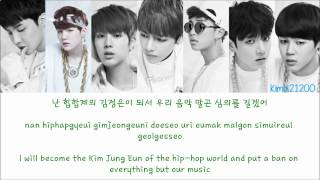 getlinkyoutube.com-BTS (방탄소년단) - If I Rule The World [Hangul/Romanization/English] Color & Picture Coded HD