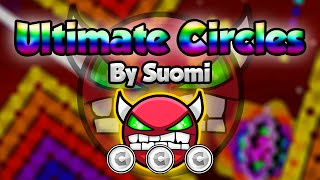 getlinkyoutube.com-NINE CIRCLES RAINBOW! Geometry Dash [2.0] (Demon) - Ultimate Circles by Suomi - GuitarHeroStyles