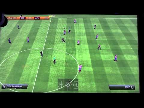 Fifa 14 Gameplay - ??exclusivo (ps3, Xbox 360) - E3 2013 - Fc Barcelona Vs Atl?tico De Madrid