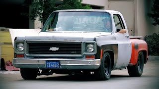 getlinkyoutube.com-Muscle Truck Revamp on a 1974 Chevrolet C10! - Hot Rod Garage Ep. 5