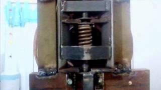 serra de fita feita em casa (band saw homemade)