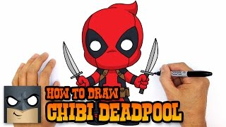 getlinkyoutube.com-How to Draw Deadpool (Chibi)- Step by Step Drawing Lesson