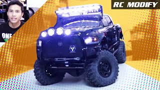 getlinkyoutube.com-RC Modify 16 | Axial SCX10 Ram Power Wagon 4x4 [English]