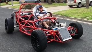 getlinkyoutube.com-First Drive JSATX Goblin Chassis #29