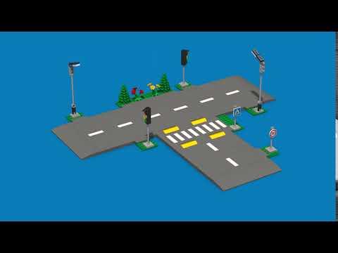 LEGO City Road Plates - 60304
