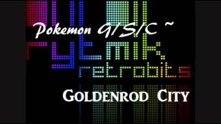 Rytmik reTrack - Goldenrod City ~ Pokemon G/S/C by zezhyrule3