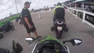 getlinkyoutube.com-Test Ride Kawasaki ZX10R First 1000cc Ride