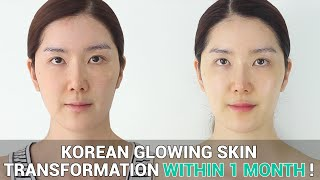 getlinkyoutube.com-Korean Glowing Skin Transformation : Make Your Sensitive Skin Healthy within 1 Month !