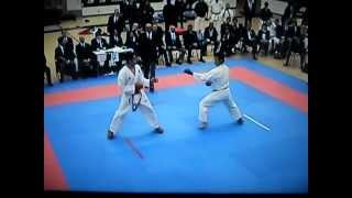 getlinkyoutube.com-Enrique Partida vs Hiro Akhaoshi kumite 2011