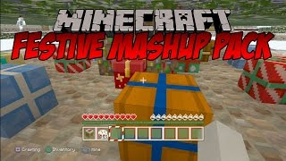 getlinkyoutube.com-Minecraft: Festive Mash-Up Pack - FINDING SANTA'S GROTTO!