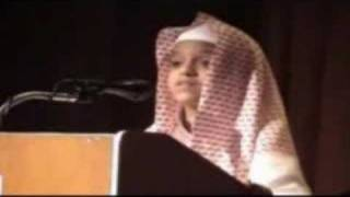 beautiful voice reciting the Quran