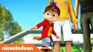 getlinkyoutube.com-ALVINNN!!! and the Chipmunks | 'Running All Night' Karaoke Video | Nick