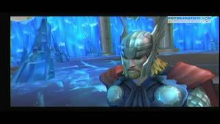 getlinkyoutube.com-[Wii] THOR, dios del trueno - presentación y juego basado en la película - gameplay