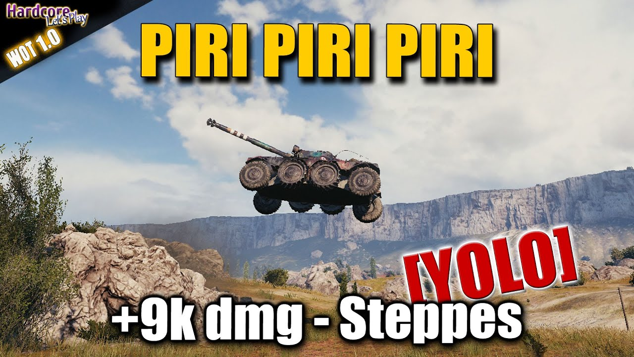 Panhard EBR 105 best World of Tanks replays
