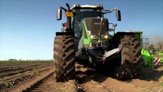getlinkyoutube.com-3 Krampe Big Body 900 mit Fendt 828 Vario bei der Kartoffelernte