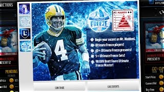 getlinkyoutube.com-NEW UPDATE! Frozen Packs, 99 Brett Favre, Ghosts of Madden! Madden Mobile 17