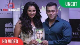 getlinkyoutube.com-UNCUT - Salman Khan Releases Sania Mirza's Autobiography 'Ace Against Odds'