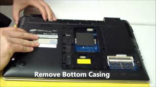 getlinkyoutube.com-Samsung NP-RV511/RV520 AC DC Power Jack Repair