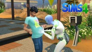 getlinkyoutube.com-The Sims 4...Kosmiczna ciąża damsko - męska xD