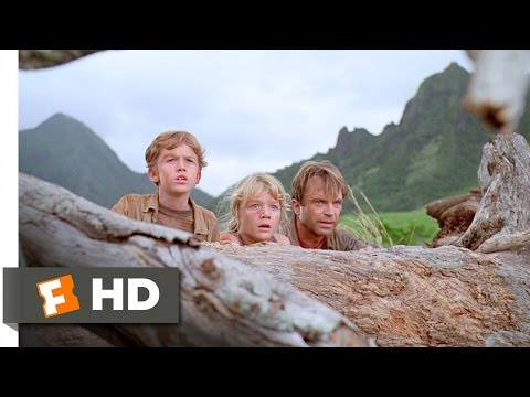 They're Flocking This Way! Scene - Jurassic Park Movie (1993) - HD
