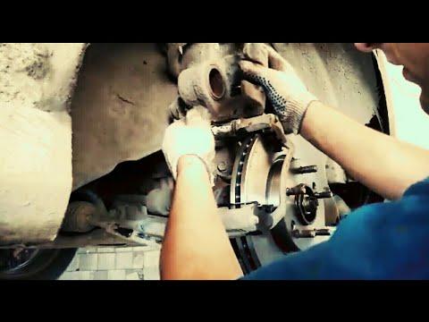 Замена передних колодок и тормозных дисков Kia Cerato