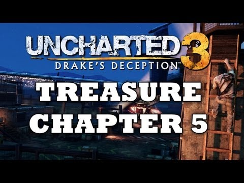 Uncharted 3 Treasure Locations: Chapter 5 [HD]