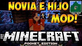 getlinkyoutube.com-NOVIA E HIJO MOD PARA MINECRAFT PE 0.14.0 | Mods Para Minecraft PE 0.14.0