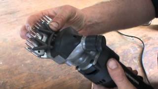 getlinkyoutube.com-Shearing How to set up your Shearing Clipper with Comb and Cutter the easy way