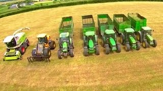 getlinkyoutube.com-Silage Men - 50 years Gobbling Grass
