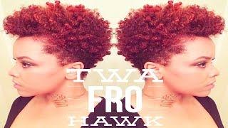getlinkyoutube.com-TWA Fro Hawk   Short Natural Hair Styles