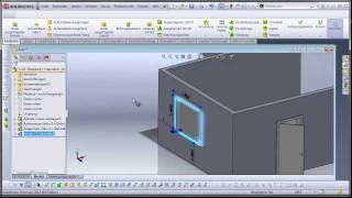 getlinkyoutube.com-SOLIDWORKS - Architekturelemente / architectural elements