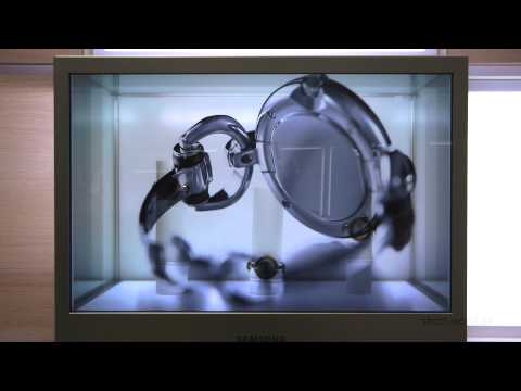Transparent Display - LCD by Samsung - IFA 2012