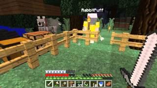 getlinkyoutube.com-Minecraft Hardcore #4 : สร้างบ้านต้นไม่ (Feat.KNCraZy)