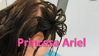 getlinkyoutube.com-Peinado La Sirenita Princesa Ariel/  Mermaid Princess Ariel Hairstyle