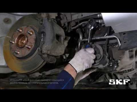 Замена комплекта цепи ГРМ SKF VKML 84004 на автомобиле Ford Focus 2