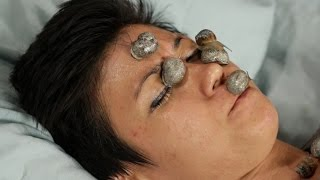 People Get Snail Facials For The First Time • The Test Friends