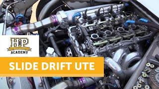 getlinkyoutube.com-Technical Tour of the Engineered To Slide Drift Ute   High Performance Academy