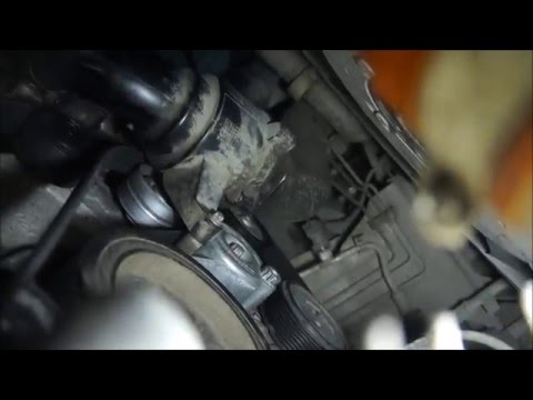 Замена приводного ремня и роликов MERCEDES GL 350 CDI