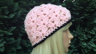 getlinkyoutube.com-How to Crochet a Beanie Hat Pattern #23│by ThePatterfamily