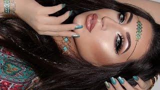 Music Festival Inspired Makeup Tutorial | Melissa Samways ♡
