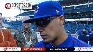 Javier Baez dice que se ganó su puesto con los Cachorros de Chicago