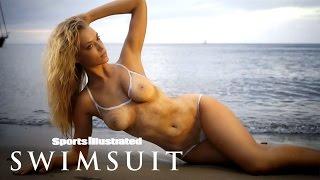 Hannah Ferguson Bears All In Body Paint Shoot | Sports Illustrated Swimsuit